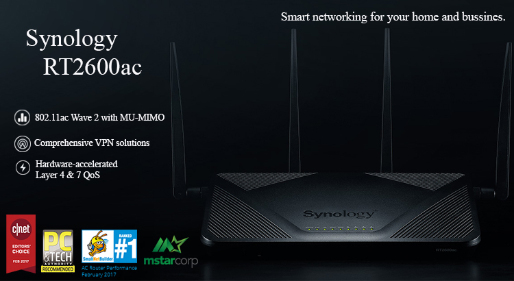router-synology-RT2600ac-synologyvietnam.vn