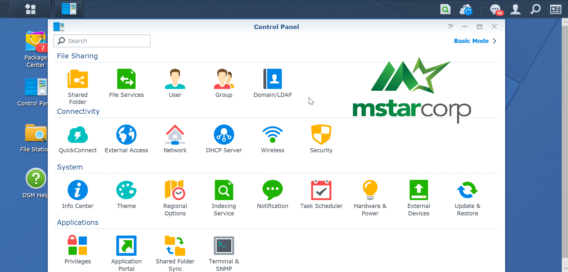 Control-Panel-Synology-NAS-synologyvietnam.vn
