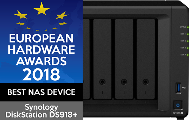 synologyvietnam-europeanhardwareawards2018-nas-ds918+