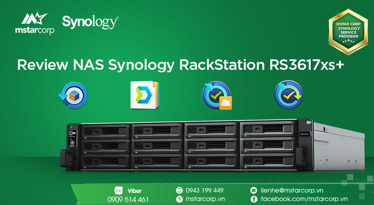 Review NAS Synology RackStation RS3617xs+