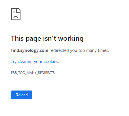 Lỗi This page isn't working