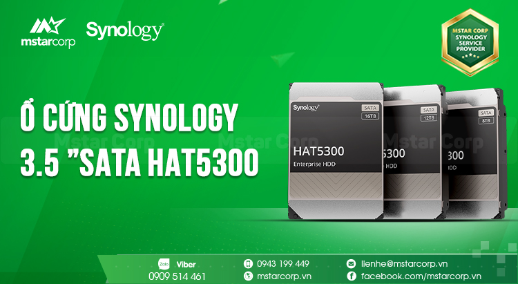 "Synology 3.5 ""SATA HAT5300"