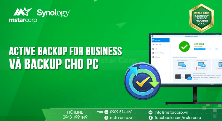 Active Backup for Business và hướng dẫn Backup cho PC