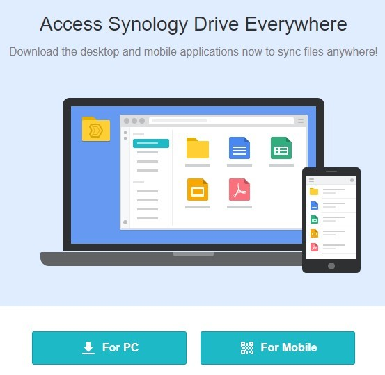 Synology Drive Client Application