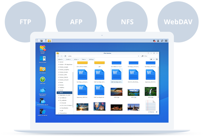 NAS Synology RS819