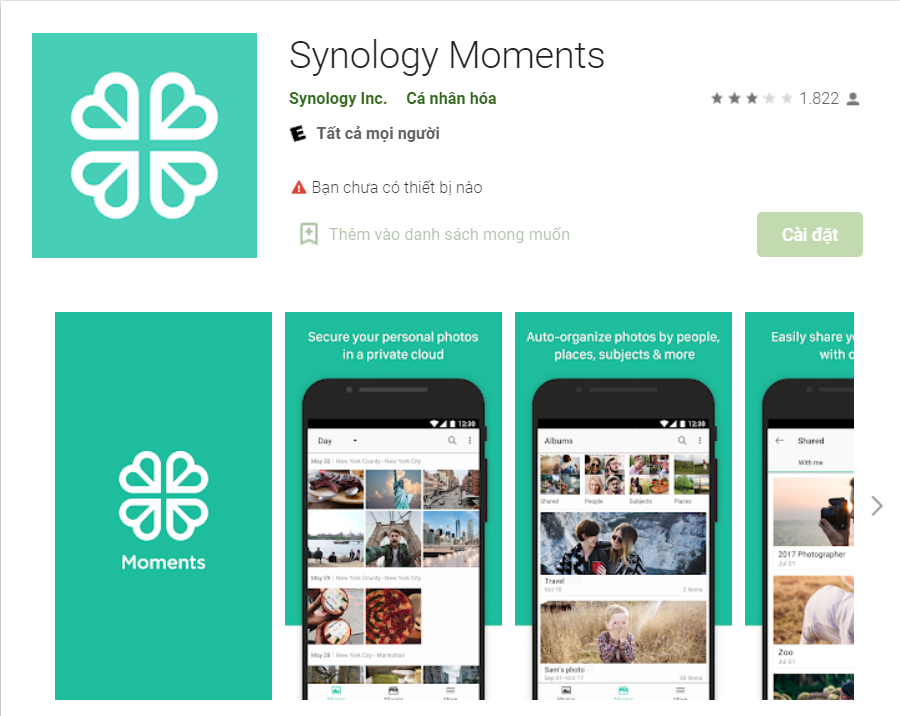 Synology moment