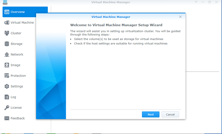 Virtual Machine Manager package