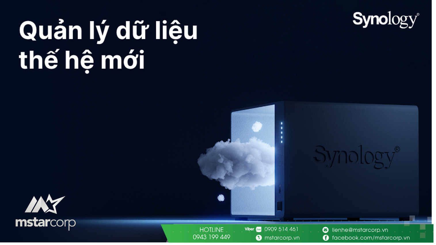 nen tang dam may voi synology c2