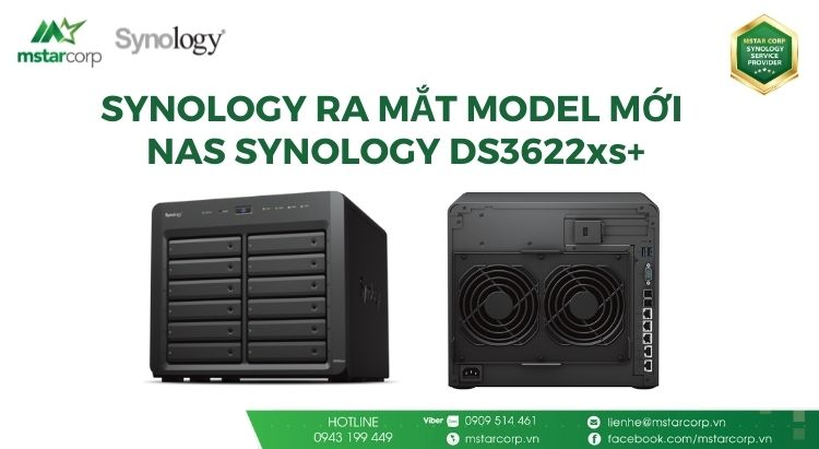 MODEL NAS SYNOLOGY DS3622xs+